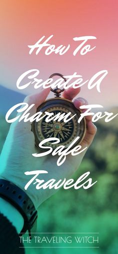 What traveler doesn't worry about safety? Whether you're going by plane, by  car or by some other method (broomstick anyone?), safety is paramount. You  never want to be caught unawares in a bad situation! This charm wards the  traveler against three common travel dangers: getting stranded, physi