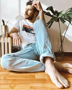Barefoot Men, Male Feet, Normcore, Lifestyle, Boys, Sexy, Beautiful, Flip Flops, Ideas