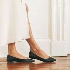 Nisolo Giveaway #1: Win a pair of Ava Ballerina Flats in Noir! . To enter: Follow us and tag five friends in a comment below. We'll announce the winner tomorrow before the next giveaway. . This week. 5 days. 5 flash giveaways. #NisoloWeekofGivingnisoloshoes