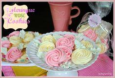 Meringue Roses Cookies