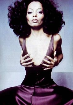 Diana Ross...ordinary just won't do.                                                                                                                                                      More