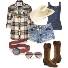 Western, created by asenlongkumer on Polyvore
