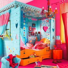 125 großartige Ideen zur Kinderzimmergestaltung - einbaubett für kinder schlafzimmer