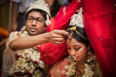 Bengali Wedding - Kolkata by axis_images. Please Like http://fb.me/go4photos and Follow @go4fotos Thank You. :-)