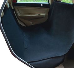 Pet Car Barrier Dog Cover Waterproof Nonslip Seat Anchors Flaps Machine Washable #PetTravelCover