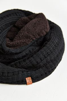 Bickley & Mitchell Pointelle Knit Eternity Scarf - Urban Outfitters