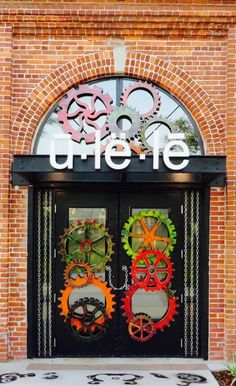 Ulele Restaurant, with prettiest doors of any restaurant ever...Tampa, Florida via flickr I live in the town next door and have never been!!! thanks, LM ♥