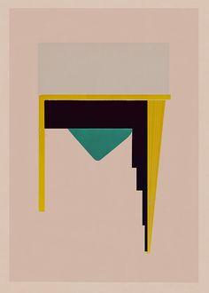 Jesús Perea / 2015 Abstract composition 649 Giclee print - 60 x 84 cm Limited edition (20) www.jesusperea.com
