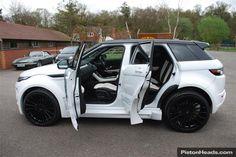 range rover evoque hamann interior   Land Rover Range Rover Evoque New 2.2 SD4 9 Speed Auto 5dr HAMANN ...