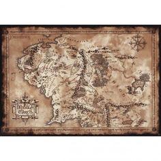 Mapa Středozemě