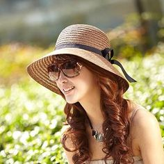 2015 Fashion New Arrival Summer Sports Hat for Women Fashion Brand Design Straw Beach Hats Lady Straw Hats Women's Caps Fashion Wide Hats from Mellonwen,$11.52 | DHgate.com