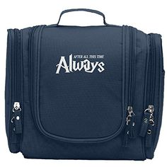 43cee8a8eb Alan Rickman After All This Time Always Snape Portable Cosmetic Toiletry  Bags Travel Storage Bag Organizer