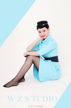 Black Pantyhose, Nylons, Airline Uniforms, Mode Chic, Fashion Photography Inspiration, Girls Uniforms, Sexy Older Women, Other Outfits, Nylon Stockings