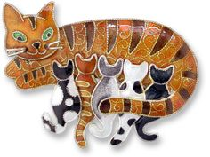 Zarah Jewelry, Sterling Silver Cat Jewelry & Animal Jewelry at Cat Fancy Gifts