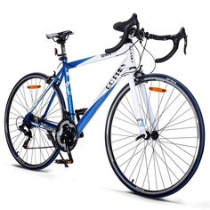 6cae28a02d3 Goplus Road Bike 700C Aluminum Shimano 21 Racing Bicycle Single Speed  Mountain Bike