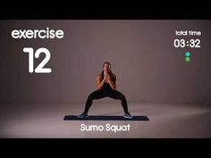 Glutes & Thighs Plyometric Toning and Cardio - HIIT Workout - No Equipment - YouTube