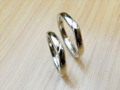 material:pt wide:2.5mm/3mm option:birthstone  http://www.yubiwatsukuru.com/