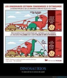 DINOSAURIOS - El asteroide fue la cereza del pastel