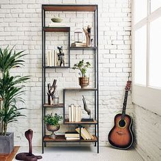 westelm.com     beautiful furniture & textiles, a lot of stuff in pretty wood & industrial style. medium expensive, kinda.