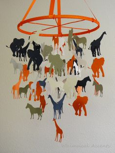 This would be cute for a Noah's Ark Baby Shower decoration