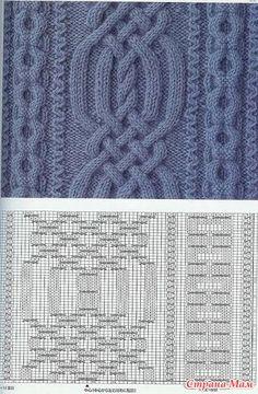 Самые оригинальные и красивые узоры для ваших работ. Вязание спицами и крючком - Клуб рукоделия - Страна Мам