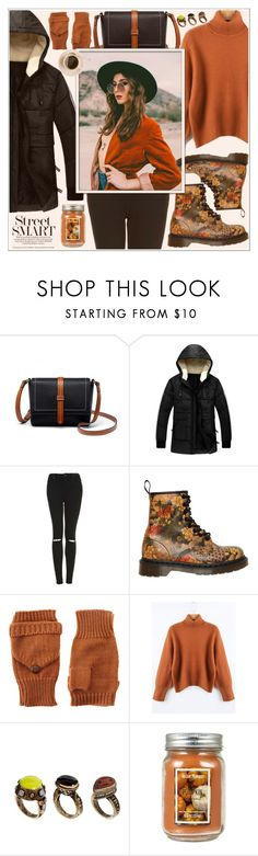 """""""#PolyPresents: Party Dresses"""" by av-anul ❤ liked on Polyvore featuring Topshop, Dr. Martens, ASOS, Avery and Holiday Memories"""