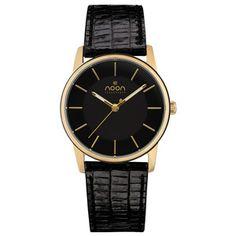 Armbanduhr Gold-Schwarz, 95€, jetzt auf Fab.