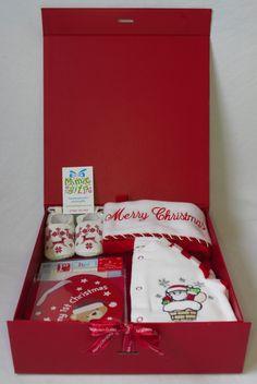Baby's 1st Christmas gift box. Order at mimicgifts@gmail.com