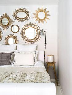 star burst mirrors for over master bed Maison Hand - light - desire to inspire - desiretoinspire.net