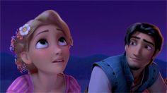 Rapunzel & Eugine.  I love the way he looks at her