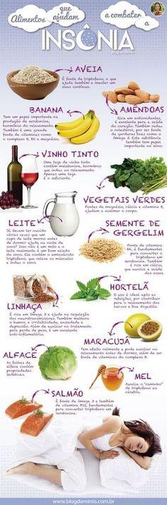 Alimentos que acabam com a insônia Healthy Tips, Healthy Eating, Healthy Recipes, Health And Wellness, Health Fitness, Menu Dieta, Good Food, Yummy Food, Light Recipes