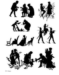Old-Time Silhouettes