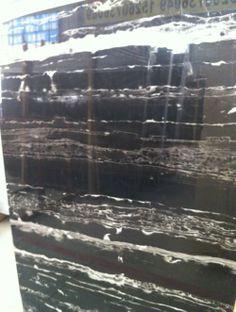 Chinese Portoro Black Marble
