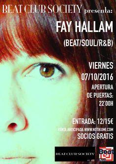Concierto de Fay Hallam en Segovia
