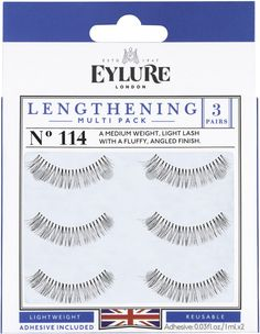 b192310b938 Eylure Naturalites LENGTHENING Triple Pack N° 155 contains of strip lashes  to enhance the natural beauty of your eyes