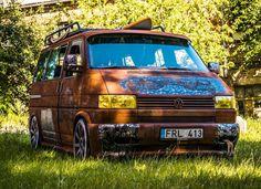 Volkswagen Transporter, Vw T5, Rat Look, The Boogie, Busse, Campervan, Automobile, Vans, Camping