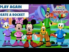 "Disney Mickey Mouse Club House Space Adventure ""Disney Junior Online Games"""