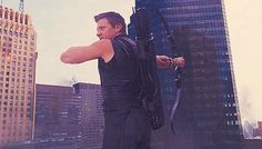 Hawkeye GIF, bamf-ing all over the place whaaaaat.....