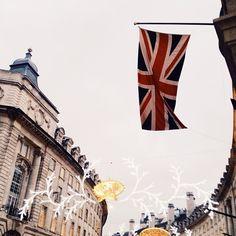 """@marte_marie_forsberg's photo: """"Yesterday's Regent street all dressed up for Christmas... #latergram #london"""""""