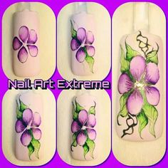 Watercolor by Nail art Extreme