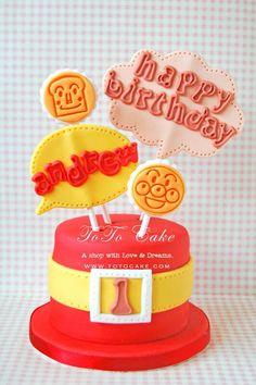 anpanman cake
