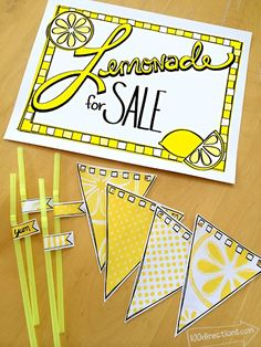 Today I'm sharing a fun printable lemonade stand kit your kids will love. I'm so excited it's finally summer, the kids are out of school and the sun is shining… most days. The kids are already claiming to be bored, so I've been regularly kicking them outside. A lemonade stand is the perfect solution! Get... Read More