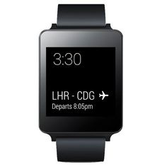 LG G Watch Powered by Android Wear - Black Titan (8806084956293) G Watch powered by Android Wear. Always with you, always on. The best fit for your style Most intelligent experience Slim and compact design Compatible phone is required (Android 4.3 +)