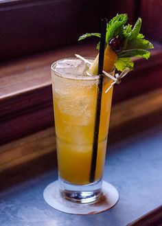 Winter Pimm's Cup - With Pimm's, Falernum and Cocchi Americano