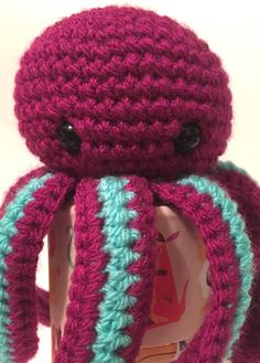 Excited to share the latest addition to my shop: Amigurumi jellyfish  #etsy #toys #perfectgift #jellyfishsofttoy
