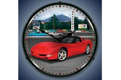 C5 Corvette Raceway Lighted Clock