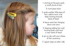 Toddler hair twist