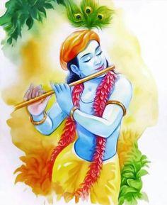 Shree Krishna Wallpapers, Radha Krishna Wallpaper, Little Krishna, Baby Krishna, Lord Shiva Painting, Krishna Painting, Fabric Colour Painting, Arte Krishna, India Poster