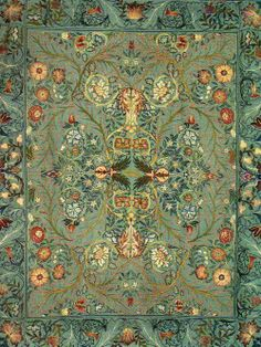 1880 William Morris ~ Acanthus Wall Hanging by William Morris