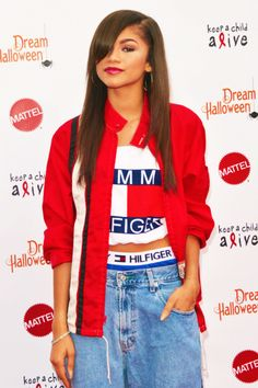 Zendaya Coleman dressed identically to Aaliyah who died in a plane crash. She also said she was Aaliyah to the press I have that pinned here also. Alter ego.